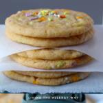 Vegan Soft Sprinkle Cookies